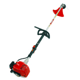 String trimmer with loop type handlebar